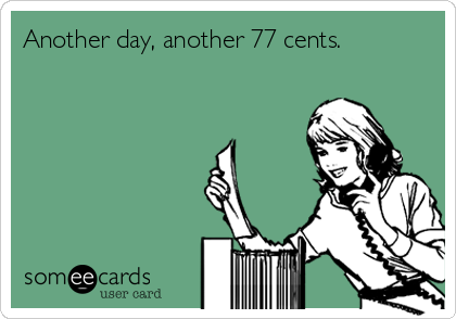 Equal Pay ecard